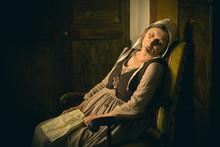 Sleeping Woman Old Master Style