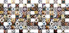 Ethnic Ceramic Tiles With Mosa...