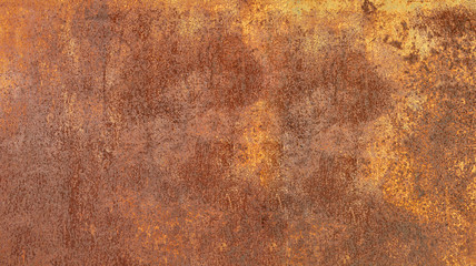 Grunge rusted metal texture, rust and oxidized metal background. Old metal ir...