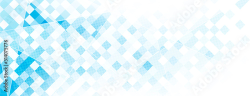 Photo blue Abstract background illustration