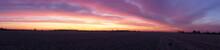 Sunrise Panorama Lincolnshire ...
