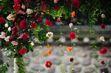 The Various Hanging Floral Dec...