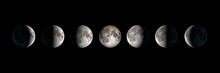 Moon Phases, Panoramic Composi...