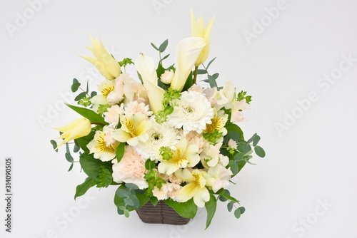 Flower arrangement フラワーアレンジメント 花束 Fototapet