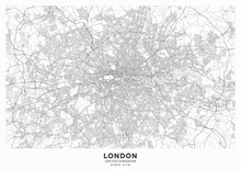 London City Map Poster. Detail...