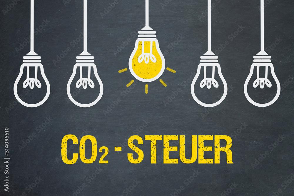 Fototapeta CO2-Steuer