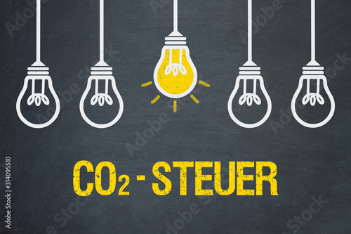 Obraz CO2-Steuer - fototapety do salonu