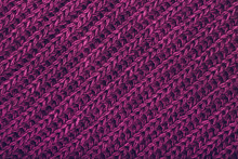 Knitted Magenta Scarf Texture....