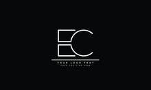 EC ,CE ,C ,E  Letter Logo Design With Creative Modern Trendy Typography
