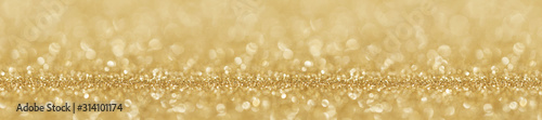 Obraz Shiny golden lights background - fototapety do salonu