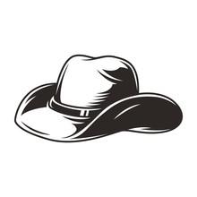 Elegant Cowboy Hat Vintage Con...