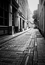 Empty London Side Street
