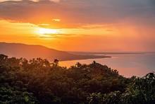 Sunset In Bohol On A Warm Summ...