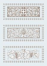 A Set Of Religious Symbols Of ...