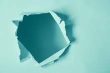 Round Damaged Hole In Paper Mi...
