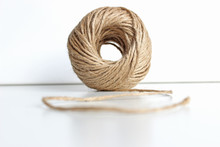 Ball Of Natural Jute Twine Iso...