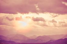 Mountain Range On The Horizon....