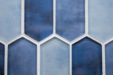 Various Shades Of Blue Glass C...