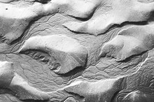 Sand Texture And Rivulet Patte...