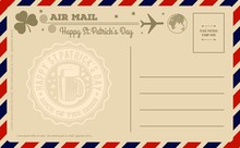 St. Patrick's Day Vintage Post...