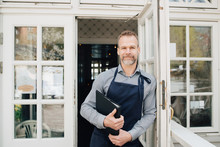 Portrait Of Restaurant Owner S...