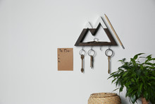 Wooden Key Holder And To Do Li...