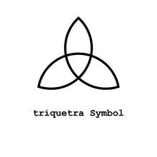 Triquetra Symbol , Illustrator...