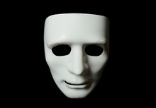 White Mask In Different Light ...