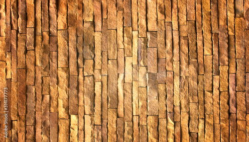 Photo stone wall Texture background.