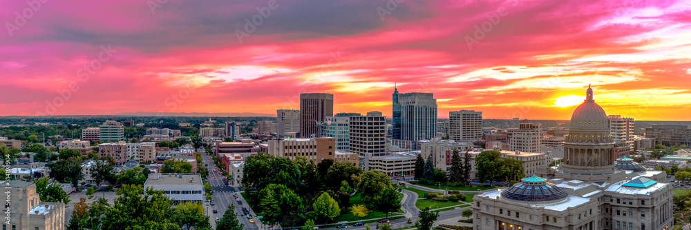 Fototapeta Boise Idaho - Capital of the Gem State