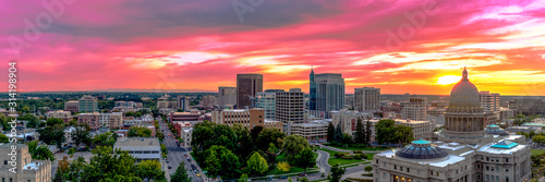 Obraz Boise Idaho - Capital of the Gem State - fototapety do salonu