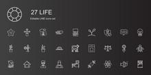 Life Icons Set