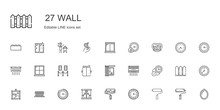 Wall Icons Set
