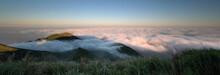 Sea Of Clouds Above Yangmingshan National Park