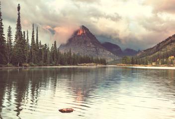 Fototapeta Rzeki i Jeziora Glacier Park