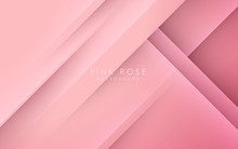 Abstract Light Pink Background Vector. Diagonal Light And Shadow.