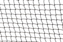 Tennis Net Isolated On White B...