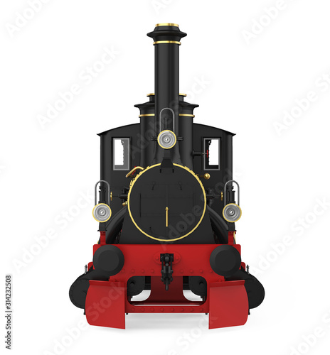Obraz Locomotive Train Isolated - fototapety do salonu