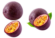 Fresh Ripe Passion Fruit, Whol...