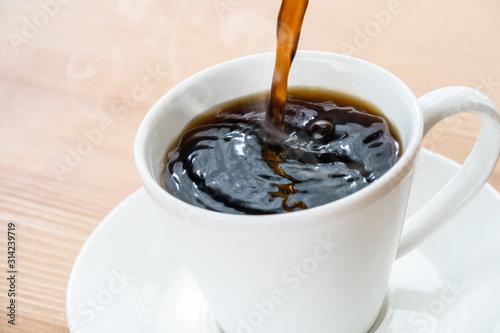 Fototapeta コーヒーを注ぐ obraz