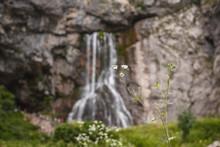 Beautiful Gegsky Waterfall In ...