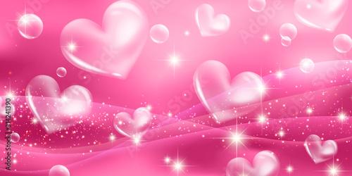Carta da parati sweet heart background