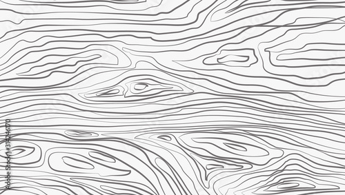 Obraz White horizontal wooden cutting, chopping board, table or floor surface. Wood texture. Vector illustration - fototapety do salonu