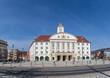 canvas print picture - Rathaus of Sonneberg