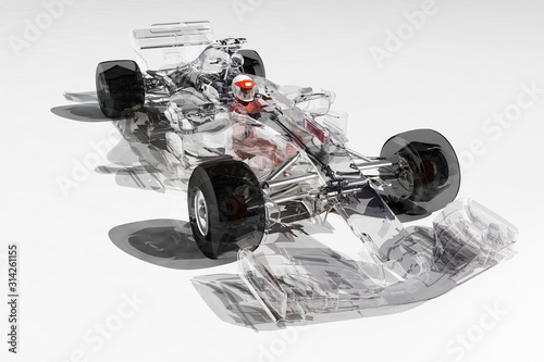 Photo Racing cars