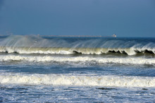 The Incoming Waves In The Shor...