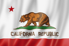 California Flag, USA