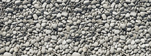 Pebbles Background. Banner Texture