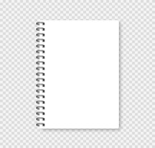 Realistic Notebook Mock Up For...