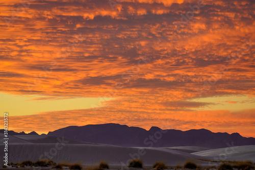 White Sands National Park - Sunset